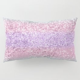 Unicorn Girls Glitter #8 #shiny #pastel #decor #art #society6 Pillow Sham