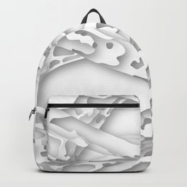 wild white areas Backpack