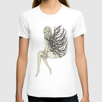 antler T-shirts featuring ANTLER by auntikatar
