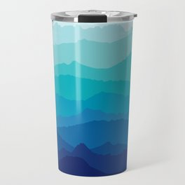 Blue Mist Mountains Travel Mug