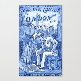 Concise Guide to London Canvas Print