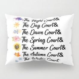 ACOTAR Courts Pillow Sham