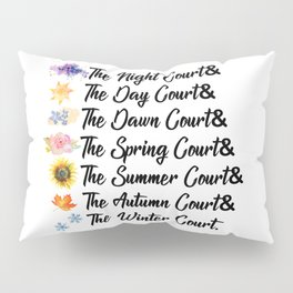 ACOTAR Courts Pillow Sham