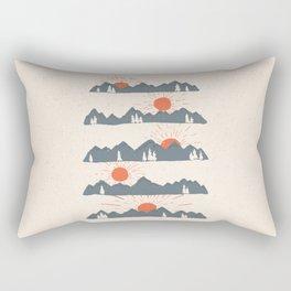 Sunrises... Sunsets... Rectangular Pillow
