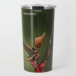 Male Pteranodon Sternbergi Muscles Travel Mug