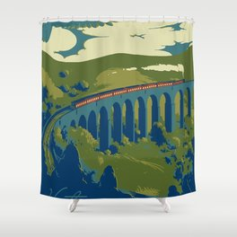 Visit Hogsmeade Shower Curtain