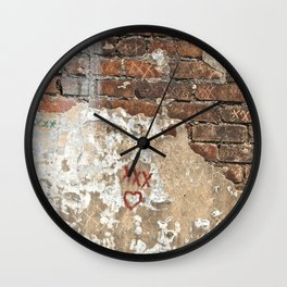 Blessings from Laveau Wall Clock