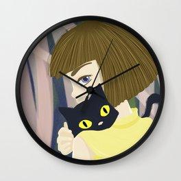 Fran and Mr. Midnight Wall Clock