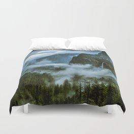 Yosemite After the Rain Duvet Cover