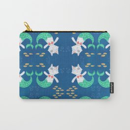 Mermaid Cat Carry-All Pouch