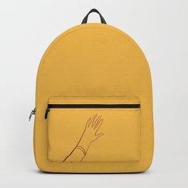 Yellow Hand Rucksack