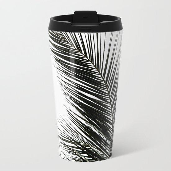 Palm Leaves Metal Travel Mug