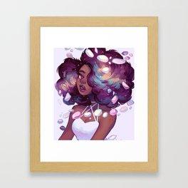Mineral Framed Art Print