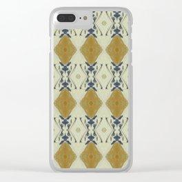 Elegant wallpaper Clear iPhone Case