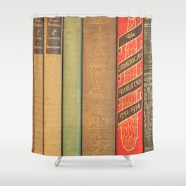 Bookishly Inspired Shower Curtain