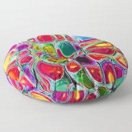 Slipping & Sliding - Joyful Pattern #society6 #lifestyle Floor Pillow