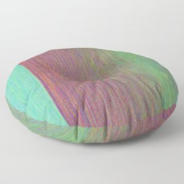Minty, Pink, and Green Floor Pillow