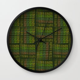 Woven One Wall Clock