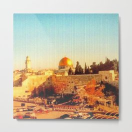Old City of Jerusalem, 2004 Metal Print