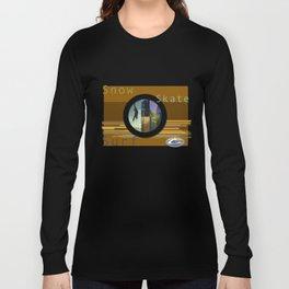 Skate Snow Surfer Long Sleeve T-shirt