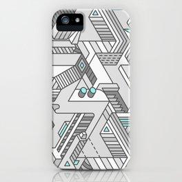 Penrose Manifold iPhone Case