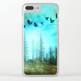 Life after Fire Clear iPhone Case