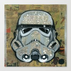 Trooper Silver Canvas Print