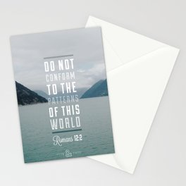 Romans 12:2 Stationery Cards