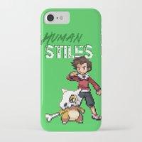 stiles stilinski iPhone & iPod Cases featuring PokeWolf: Stiles Stilinski by Trickwolves