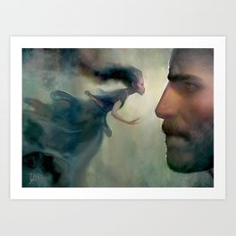 Kaladin and Syl Art Print