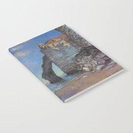 Claude Monet's The Cliffs at Etretat Notebook