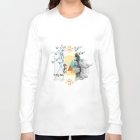 fifth element Long Sleeve T-shirts featuring FIFTH SKY by D'ANGELO ATENEA