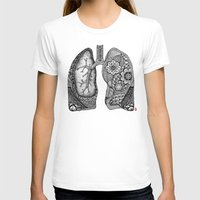 lungs T-shirts featuring Lungs by ericajc