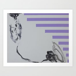 Violent Fish Art Print
