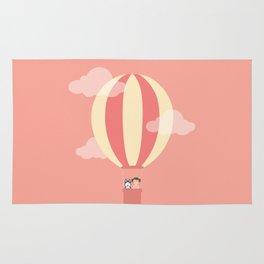 In A Hot Air Balloon Rug