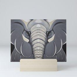 Elephants Mini Art Print