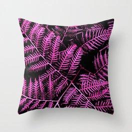 Boysenberry Bracken Throw Pillow