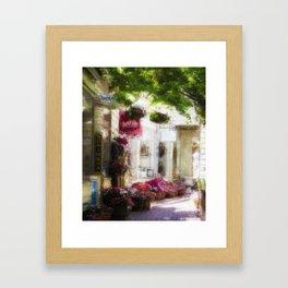 Sausalito Walk Framed Art Print