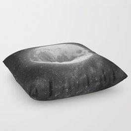 The Moon 2 Floor Pillow