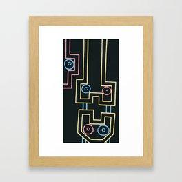 down. time. Framed Art Print