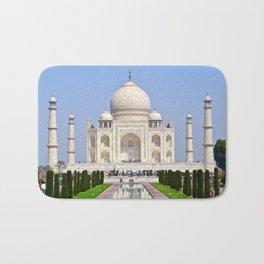 The Taj Mahal India Bath Mat