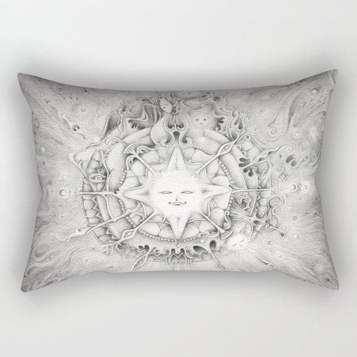 Moonlight Dream Caster Rectangular Pillow