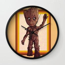 Dancing Baby Twig Guardians of the Galaxy Wall Clock