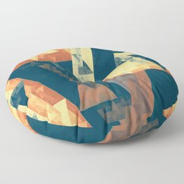 abstract oblivion Floor Pillow