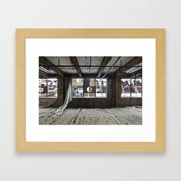 Factory H Framed Art Print