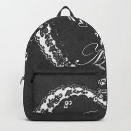 Be Mine Vintage Valentine Chalkboard Backpack