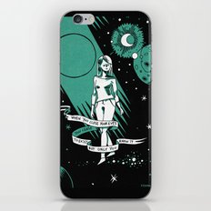 When you close your eyes iPhone & iPod Skin