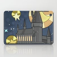 hogwarts iPad Cases featuring Hogwarts by Lacey Simpson