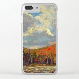 Tom Thomson Hillside, Smoke Lake 1914 Canadian Landscape Artist Clear iPhone Case