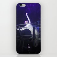 techno iPhone & iPod Skins featuring Techno Diva by tscreative